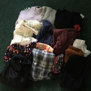 15+ pieces of clothing size small-medium women's